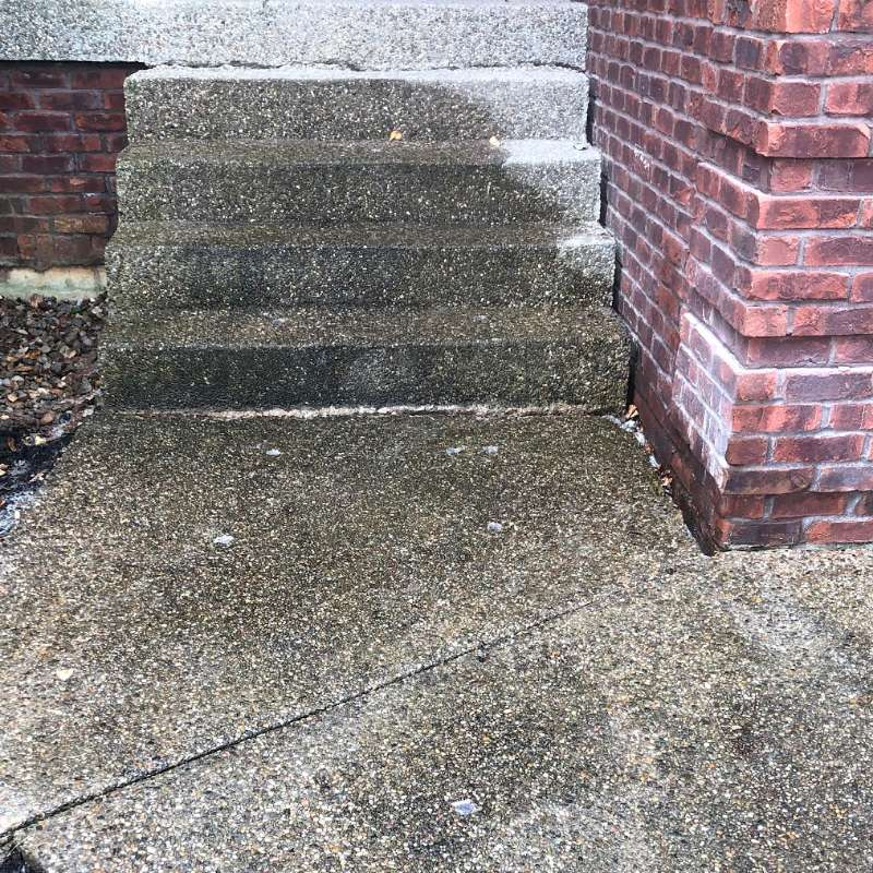 Louisville Step Repair After
