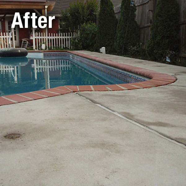 A-1 Concrete Leveling Pool Deck Repair - After
