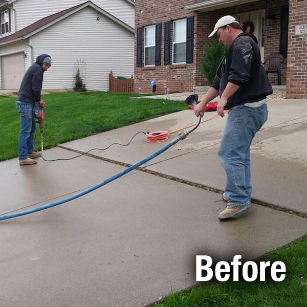 Concrete Driveway Repair Company Concrete Leveling And