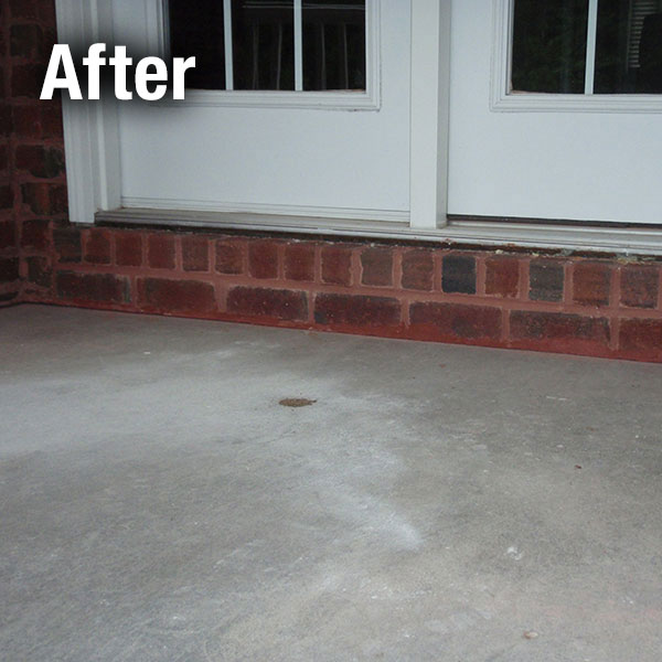 Concrete Porch Leveling   After