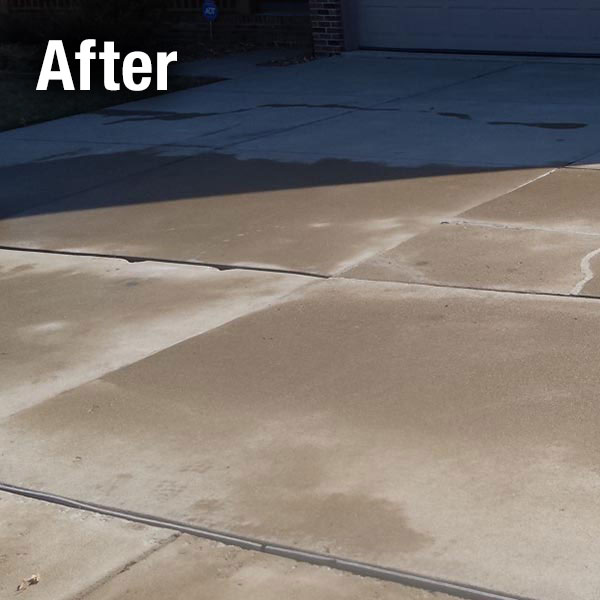 A-1 Concrete Leveling Driveway Repair - After