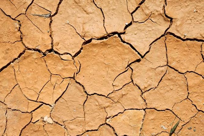 Causes of concrete settling - dry soil conditions